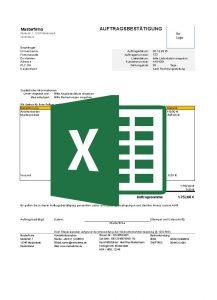 24/7 Concepts kostenlose Auftragsbestätigungsvorlagen-excel