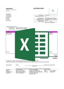 24/7 Concepts kostenlose Lieferscheinvorlagen-excel