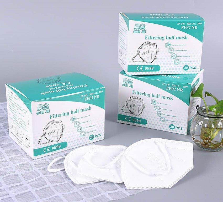 FFP2 Maske 20er Pack mit Zertifikat